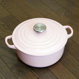 LE CREUSET - ル・クルーゼ(LE CREUSET)ココット・ロンド 20cm鍋
