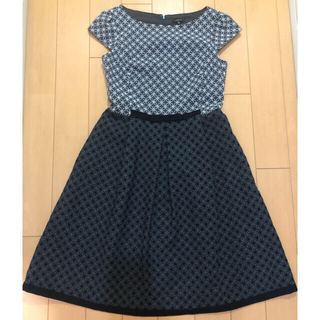 TOCCA - トッカ WEB限定カラーCRYSTAL ドレス 刺繍 ワンピース レッド 0