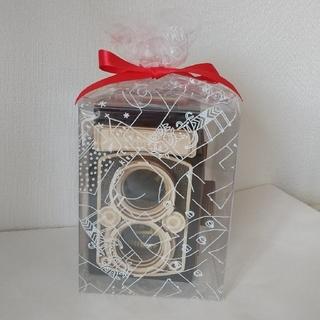 カルディ(KALDI)のカルディ 一眼レフレックス カメラ 木箱(黒)(菓子/デザート)