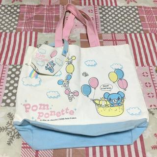 ポンポネット(pom ponette)の【ポンポネット】バッグ6点+巾着袋♡計7点(トートバッグ)