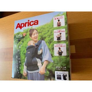 Aprica - 【新品同様】アップリカ コアラ  ウルトラメッシュ グレー 赤ちゃん 抱っこ紐
