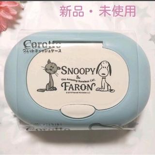 SNOOPY - スヌーピー & ファーロン ウェットティッシュケース corotto大