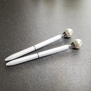 Francfranc - パール ホワイト ボールペン 2本