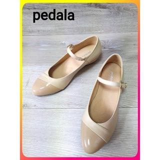 asics - 【asics walking pedala レザー パンプス】ペダラ 靴