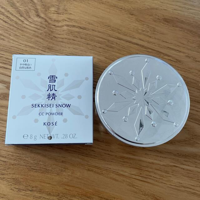 雪肌精(セッキセイ)の雪肌精 スノー CC パウダー コスメ/美容のベースメイク/化粧品(ファンデーション)の商品写真