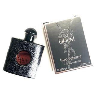 イヴサンローランボーテ(Yves Saint Laurent Beaute)の廃盤品!イヴサンローラン ブラックオピウム 7.5ml(新品)(ユニセックス)