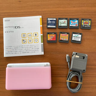 ニンテンドーDS - すぐに遊べるカセット付き✩Nintendo DS lite✩