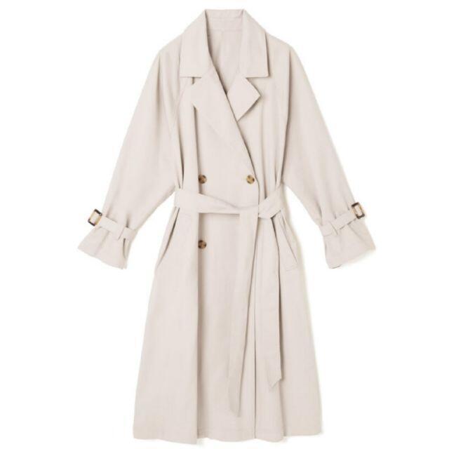 GRL(グレイル)のGRL グレイル ベーシックダブルトレンチコート レディースのジャケット/アウター(トレンチコート)の商品写真