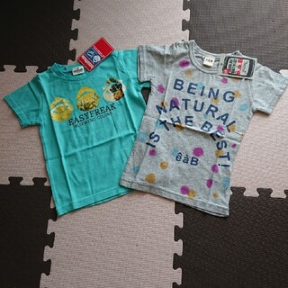 エーアーベー(eaB)の100㎝べべ系ブランド 半袖Tシャツ 2枚(Tシャツ/カットソー)