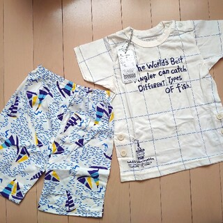 ampersand - 新品 タグ付き パジャマ 90 Ampersand アンパサンド