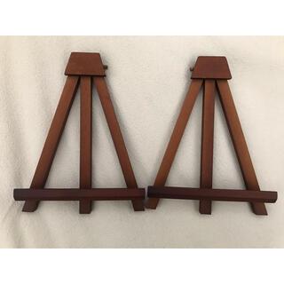 ナカバヤシ木製イーゼル卓上タイプ(SS)2個セット(イーゼル)