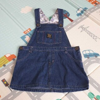 ディズニー(Disney)のサイズ110 ジャンパースカート(スカート)