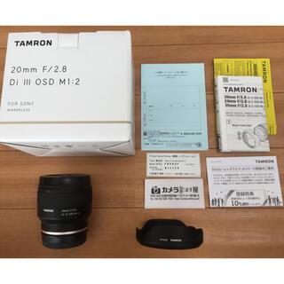 TAMRON - 【新品同様】TAMRON 20mm F2.8 Di Ⅲ OSD M1:2