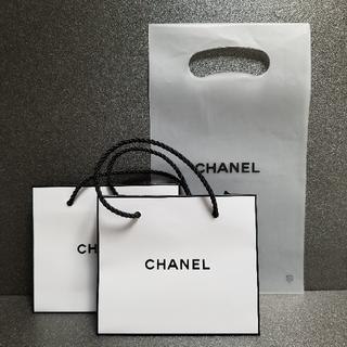 シャネル(CHANEL)のCHANEL ショッパー 3枚セット(ショップ袋)