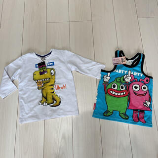 パーティーパーティー(PARTYPARTY)のパーティパーティ 110サイズ 新品(Tシャツ/カットソー)
