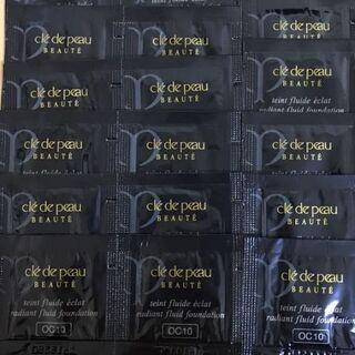 クレ・ド・ポー ボーテ - クレドポーボーテ タンフリュイドエクラ 15包 オークル10 サンプル