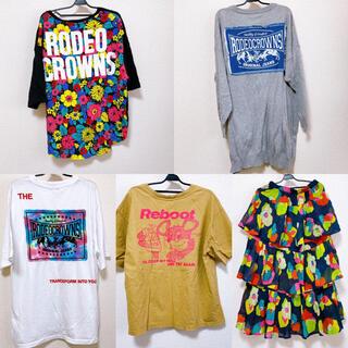 ロデオクラウンズワイドボウル(RODEO CROWNS WIDE BOWL)のロデオ トップス まとめ売り(Tシャツ(半袖/袖なし))