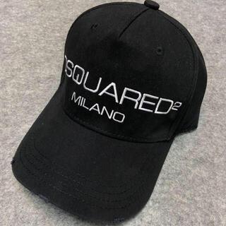 ディースクエアード(DSQUARED2)のキャップ DSQUARED2 ディースクエアード ブラック 新品未使用(キャップ)