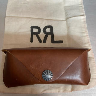 ダブルアールエル(RRL)のRRL ダブルアールエル メガネケース インド産 レザー(折り財布)