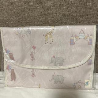 ジェラートピケ(gelato pique)のピケランド 母子手帳 ジャバラ型 ピンク(母子手帳ケース)