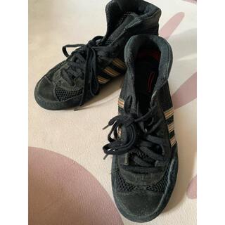 アディダス(adidas)のアディダス USEDレスリングシューズ 21.5センチ キックボクシングにも!(ボクシング)