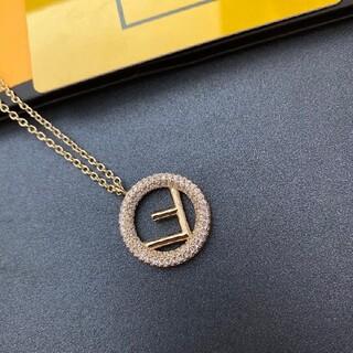 フェンディ(FENDI)の美品 Fendi フェンディ ネックレス レディース(ネックレス)