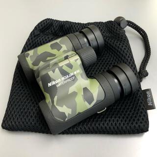 ニコン(Nikon)の【Nikon】双眼鏡 アキュロン10倍 カムフラージュ柄(その他)