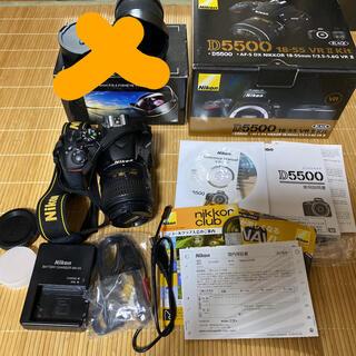 Nikon - Nikon D5500 WiFi付  付属品完備