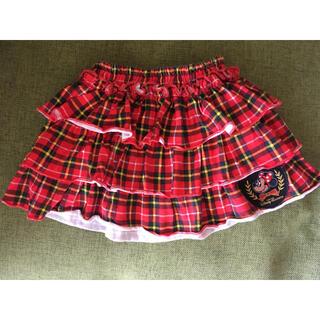 ディズニー(Disney)のミニーマウス スカート 90サイズ(スカート)