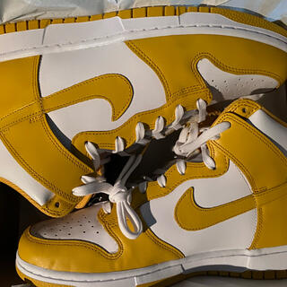 "ナイキ(NIKE)の【Rさん専用】NIKE WMNS DUNK HIGH ""DARK SULFUR""(スニーカー)"