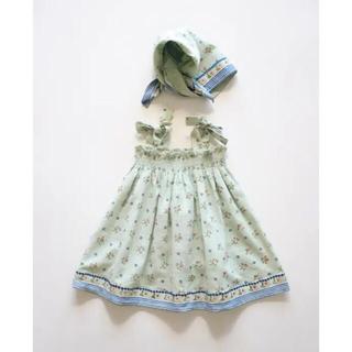 Caramel baby&child  - 【新品】Bonjour diary  ワンピース スカーフ セット