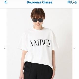 DEUXIEME CLASSE - 【AMERICANA/アメリカーナ】AMRCN Tシャツ