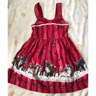 Shirley Temple - シャーリーテンプル ジャンパースカート 100