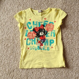 DOUBLE.B - ダブルビー 半袖Tシャツ 90