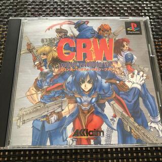 プレイステーション(PlayStation)のプレステソフト☆CRW カウンター・レボリューション・ウォー(家庭用ゲームソフト)