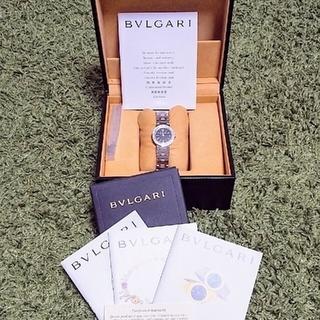 BVLGARI - 【4/15新品電池▪パッキン交換済 】BVLGARI ブルガリブルガリ腕時計