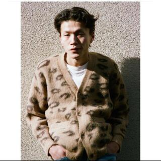 UNUSED - TTT_MSW mohair cardigan leopard サイズ M