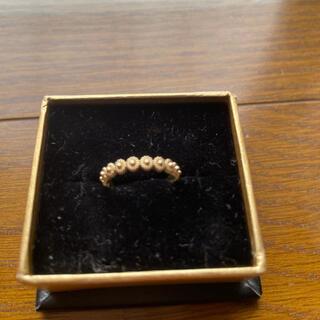 ココシュニック(COCOSHNIK)のココシュニック フラワーモチーフリング (リング(指輪))