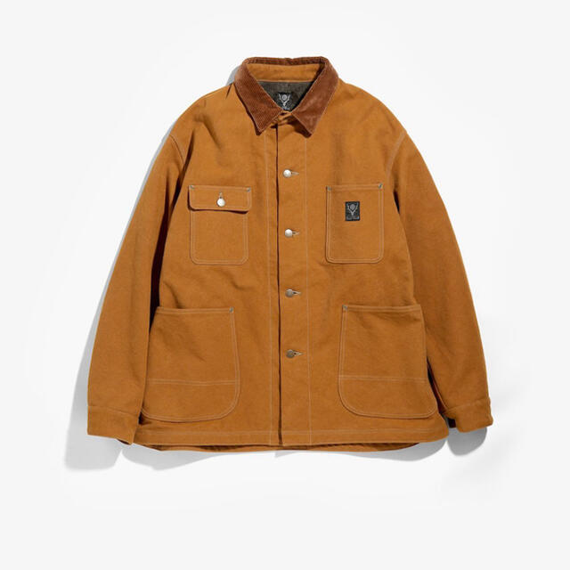Needles(ニードルス)の【south2west8】Lined Coverall 16oz Canvas メンズのジャケット/アウター(ブルゾン)の商品写真