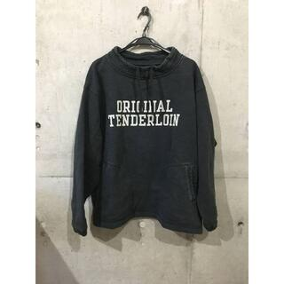 TENDERLOIN - ★TENDERLOIN★ MOCK NECK SWEAT ブラック 黒 [M]