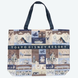 Disney - ディズニーリゾート限定 エコバッグ 大きいサイズ