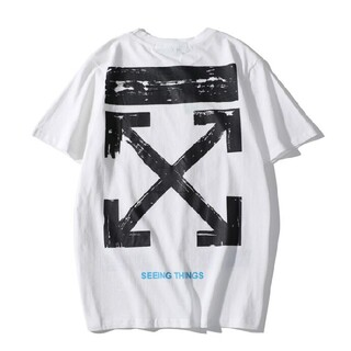 OFF-WHITE - 人気OFF-WHITE Tシャツ 男女兼用