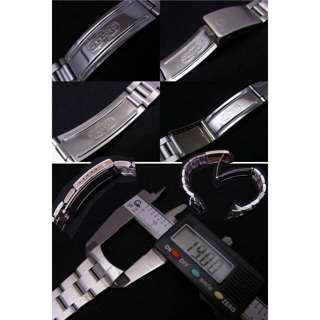 ROLEX(ロレックス)の19mm SSオイスタータイプ ブレスレット(バネ棒付)  メンズの時計(金属ベルト)の商品写真