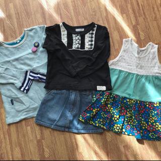 女の子セット チュニック(Tシャツ/カットソー)