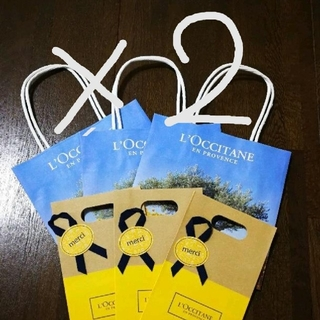 L'OCCITANE - 6枚セット ロクシタン ショップ袋 ラッピング 小分け袋 袋