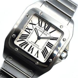 Cartier - カルティエ Cartier サントス100 腕時計 メンズ【中古】