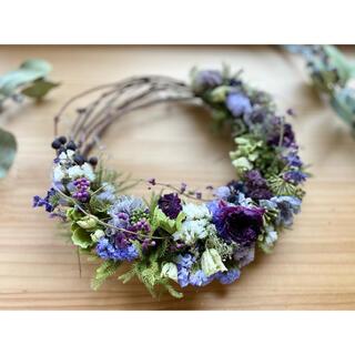 wreath【purple×purple】(リース)