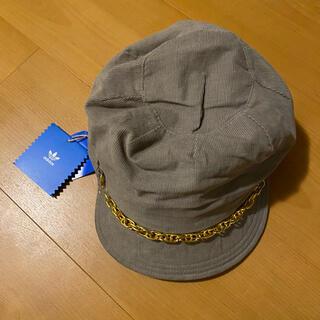 アディダス(adidas)のアディダス キャスケット 帽子 56cm 新品未使用(キャスケット)