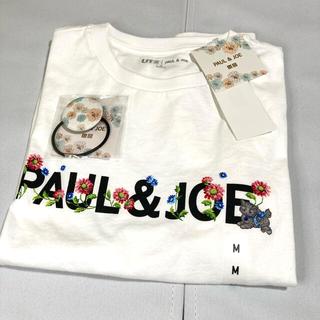 ポールアンドジョー(PAUL & JOE)のユニクロ ポール&ジョー コラボ Tシャツ ノベルティ付き(Tシャツ(半袖/袖なし))