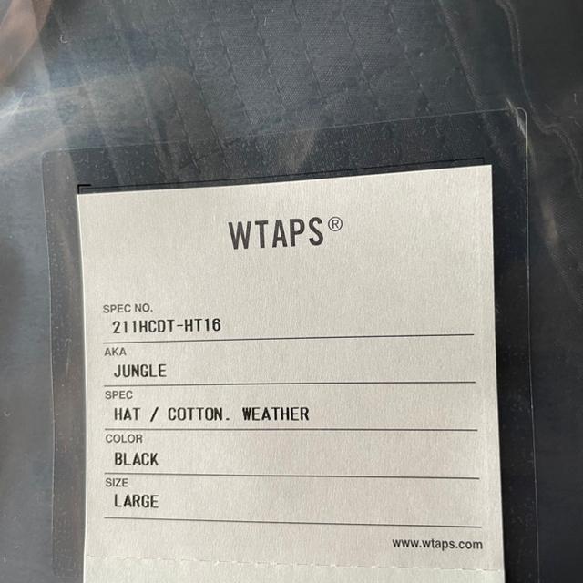 W)taps(ダブルタップス)のWTAPS JUNGLE/HAT/COTTON.WEATHER L メンズの帽子(ハット)の商品写真